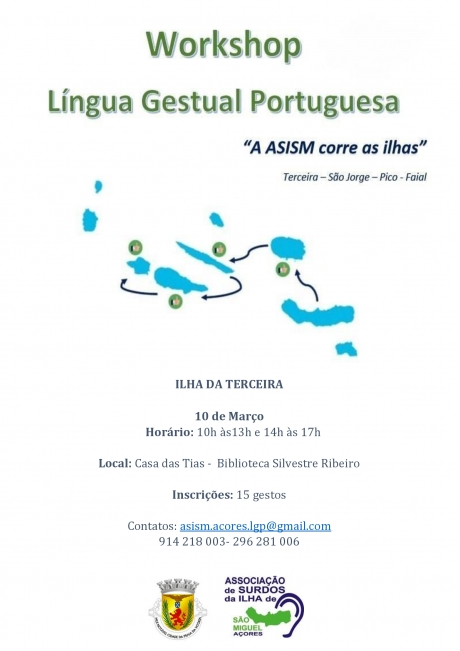 Workshop de Língua Gestual Portuguesa